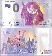 Zero (0) Euro, 2017 - 1 (1st Print), UNC, Napoleon 1st