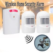 Wireless Security Infrared PIR Sensor Driveway Alarm Alert System Home Motion