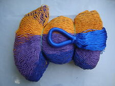 MAYAN HAMMOCK  2 Meters Wide - MULTICOLORED WOVEN - Holds 300Lbs+ FREE ROPES*#GB