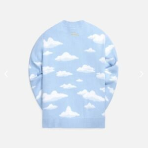 Kith X Simpsons Clouds Intarsia Knit Sweater Size L  - Confirmed Purchase