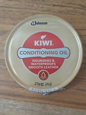 KIWI Conditioning Oil For Leather - 2 5/8 Oz 74g