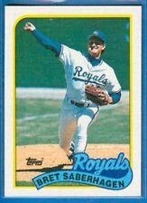 Bret Saberhagen, 1989 Topps #750, Royals