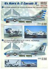 Print Scale Decals 1/48 L.T.V. A-7 CORSAIR II U.S. Navy Fighter Part 2