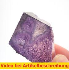 7053 Fluorite fluorit Lösungsanisotropie 3*5*3 cm Elmwood M. USA Tennessee MOVIE