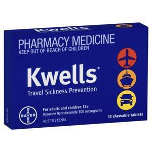 Kwells Adults 12 Pack (Travel Sickness)