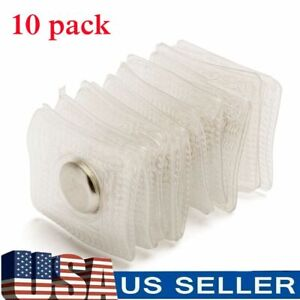 10pcs PVC Invisible Hidden Sew in Magnetic Snaps Magnet Button Purse Closure DIY