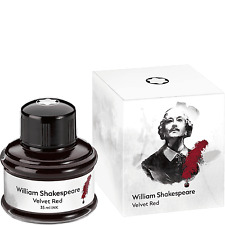 MONTBLANC  WILLIAM  SHAKESPEAR SPECIAL EDITION INK IN INK WELL NEW IN BOX