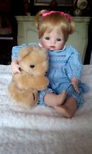 Ashton-Drake Galleries Porcelain Doll (Hannah Needs A Hug) 1993  NIB