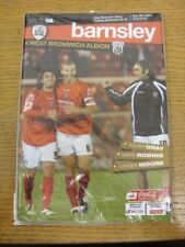 29/09/2009 Barnsley v West Bromwich Albion  . Any faults with this item should h