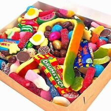 1kg Letterbox Sweets, Pick N Mix,Jelly, Fizzy And Chocolate Sweet Hamper.
