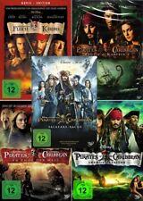 Fluch der Karibik 1 - 5 (Pirates of the Caribbean)                   | DVD | 440