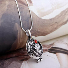 Vintage The Vampire Diaries Katherine Antique Silver Locket Necklace Jewelry