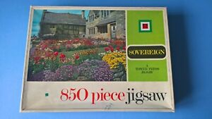 Sovereign - Garden in Rural England, Jigsaw Puzzle, Tower, 850 Pieces, Complete