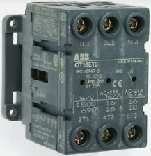 ABB NON FUSED SWITCH DISCONNECTOR 3-Poles 11kW 750V AC IP20 Panel Mount
