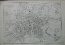 Map of Edinburgh 1865