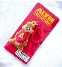 ALVIN AND THE CHIPMUNKS 20th CENTURY FOX 2011 BENDABLE RUBBER KEY CHAIN NEW