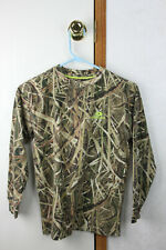 Long Sleeve Mossy Oak Camouflage T Shirt Children's  L size 10-12