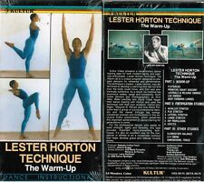 Lester Horton Technique Warm Up Dance Instructional VHS Video Tape New
