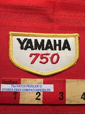 Vtg Yamaha 750 Motorcycle Biker Vest / Jacket Patch Emblem C63C