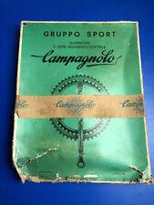 GUARNITURA CAMPAGNOLO SPORT IN ACCIAIO NUOVA NOS NIB 53/42t CRANKSET STEEL
