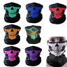 Gothic Skull Skeleton Head Scarf Face Cover Mask Shawl Magic Cycling Neck-wrap