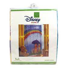 Disney Home Pooh Collection Sunshine and Showers 72x72 Vinyl Shower Curtain
