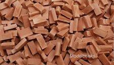 500 1:35th Scale Miniature HO OO Model Railway Wagon Load Bricks