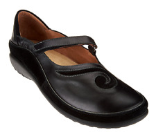 Naot Leather Mary Janes - Matai Black Women's Shoes EU36 US Size 5-5.5 New