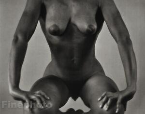 1959/86 Vintage RUTH BERNHARD Black Female Nude Woman African Photo Engraving