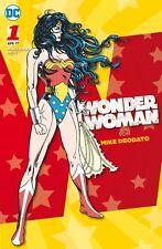 Wonder WOMAN SPECIAL #1 Lipsia-Variant tedesco Mike Deodato esclusiva output