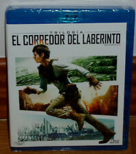 EL CORREDOR DEL LABERINTO TRILOGIA BLU-RAY NUEVO ACCIÓN THRILLER (SIN ABRIR) R2