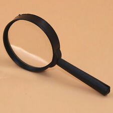 10X Handheld 10X Magnifier Magnifying Glass Loupe Reading Jewelry Tools 60mm