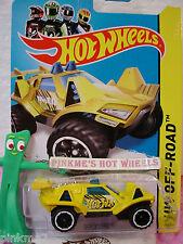 Case B/C 2014 Hot Wheels QUICKSAND #113 US∞Yellow∞HW Off-Road Off Track