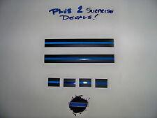 Thin Blue Line Decal Super-Multi Pack - Our best selling decals - SHIPS FREE!