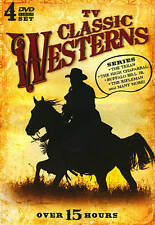 TV Classic Westerns (DVD, 4-Disc Set) Usually ships within 12 hours!!!
