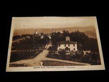 Vintage Postcard,CASENTINO,ITALY,IT,View Borgo Alla Collina,To Paris,France,1925