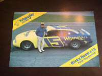 Ricky Rudd 1984 Hero Card Wrangler Ford Thunderbird
