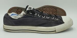 Converse Chuck Taylor All Star Low Canvas Trainer AT366 Navy UK12/US12/E46.5