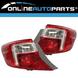 Replacement Outer Tail Lights Pair LH+RH for Toyota Camry ASV50 2011~4/15 Sedan
