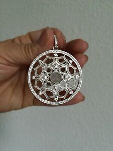 Thomas Sabo Anhänger Ornament Amulett Lotos 925 Silber XXL groß!