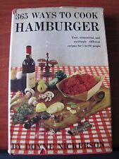 365 Ways to Cook Hamburger by Doyne Nickerson - 1960 Hardcover - Easy Economical