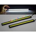 2x Super Bright COB Car White LED Lights 12V For DRL Fog Driving Lamp Waterproof