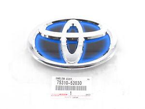 Genuine OEM Toyota 75310-52030 Front Grille Emblem Badge 2015-2018 Prius C