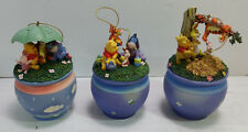 3  Adventures of Winnie The Pooh Ornament The Bradford Editions`