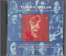 Tommy Bolin From the Archives Volume One CD Special Edition FASTPOST