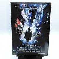 """DVD """"BABYLON A.D."""" avec Vin Diesel, Lambert Wilson, de Mathieu Kassovitz (2008)"""