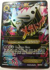 M Aggron EX 154/160 Primal Clash FULL ART HOLO RARE MINT Pokemon Card