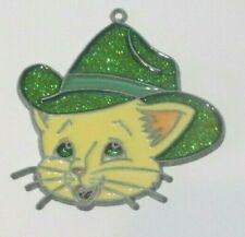Cat With A Blue Hat Suncatcher (Cat Suncatchers)