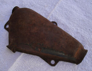 1941 FORD PICKUP AND LARGER TRUCKS - ORIGINAL FIREWALL WIRING JUNCTION COVER