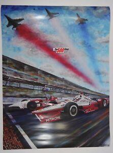 2016 Indianapolis 500 Kelly Bremer Poster Luyendyk Treadway Juan Pablo Montoya